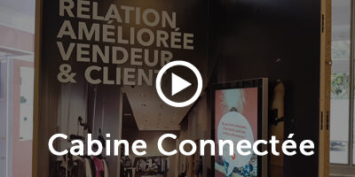 Solution innovante et interactive : la Cabine Connectée