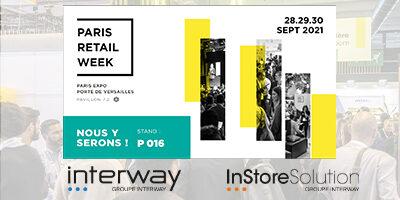 Groupe Interway à la Paris Retail Week 2021